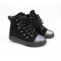 Зимние кожаные ботинки на девочку тм Bi&Ki