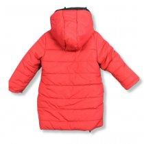 Детская Куртка зимняя для девочки красная тм Одягайко