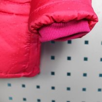 Куртка зимняя  для девочки малиновая тм Одягайко
