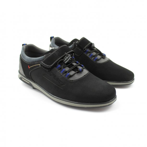 Подростковые черные туфли для мальчика тм Том.М