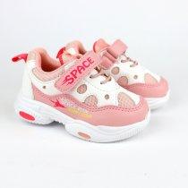 Кроссовки для девочки цвет нежно-розовый тм Том.М
