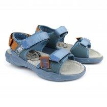 Легкие спортивные босоножки на мальчика голубые тм Том.м