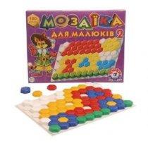 Мозаика для малышей, 120 элементов в коробке тм ТехноК KM2216T