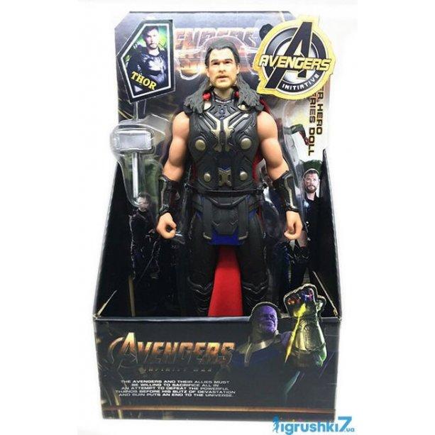 Игрушка Супер Герои Тор в коробке