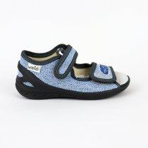 Текстильные сандалии для мальчика тм Waldi на липучках