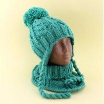 Шапка и шарф-воротник для детей тм Babasik размер 50-52