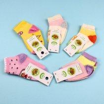 Детские носки для девочки Мордашки сетка тм ЕКО