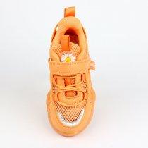 Детские кроссовки на девочку апельсинового цвета тм Том.М