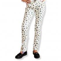 Фирменные белые джинсы для девочки Звезды Philipp Plein