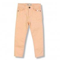 Детские брюки на девочку Жемчуг персиковые Турция