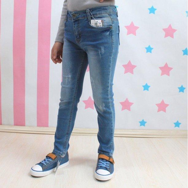 Голубые джинсы для мальчика Lacoste Турция