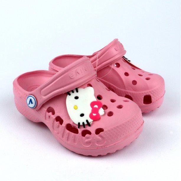 Детские розовые кроксы детская пляжная обувь тм Виталия