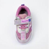 Летние кроссовки для девочки тм Том.м сиреневого цвета