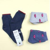 Детские махровые носки для девочки пончик тм Эко размер 18