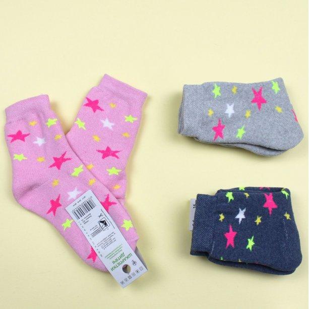 Детские махровые носки для девочки с рисунком тм Эко размер 16