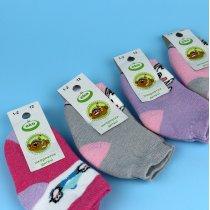 Детские Теплые махровые носки на девочку тм Эко размер 12
