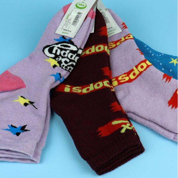 Детские подростковые махровые носки для девочки тм Эко размер 20-22