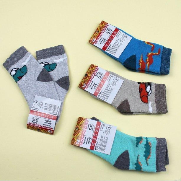 Детские носки махра детские на мальчика тм Виатекс размер 12