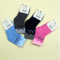 Носки для девочки махровые Котик тм Роза
