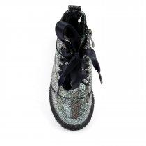 Кожаные зимние ботинки для девочек тм Олтея