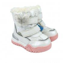 Белые детские сапоги ботинки для девочки тм Том.м