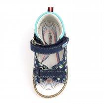 Кожаные босоножки для мальчика серия Ортопед тм Bi&Ki
