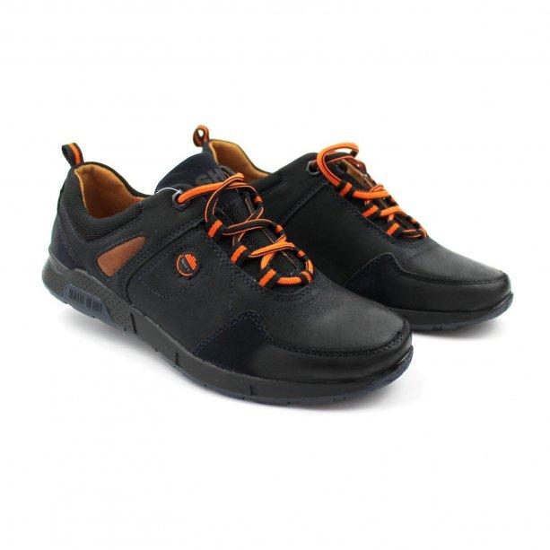 Туфли на мальчика спорт с оранжевыми шнурками тм Том.М