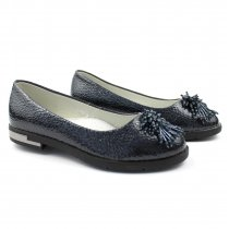 Туфли для девочки синие Лодочка тм Том.М