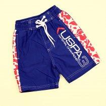 Пляжные шорты для мальчика Uspa 3 синие тм Glo-Story