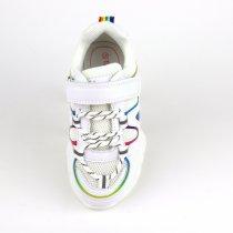 Кроссовки на девочку тм ТомМ белого цвета