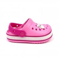 Кроксы для девочки с led подсветкой розовые тм GIOLAN