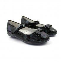 Туфли лаковые с бантиком для девочки  тм BI&KI