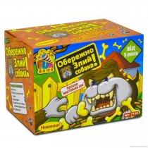"""Игра """"Осторожно!Злой собака""""на батарейке, в коробке """"FUN GAME"""" для детей и взрослых"""