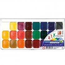 Краски Акварель медовая Классика 24 цвета