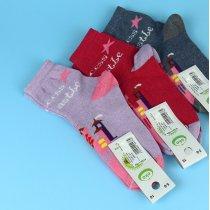 Детские носки девочке стрейч тм Эко размер 16