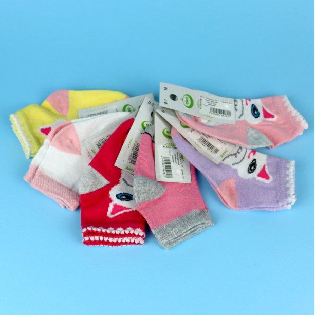Детские носки детские для девочки стрейч тм ЕкО размер 10
