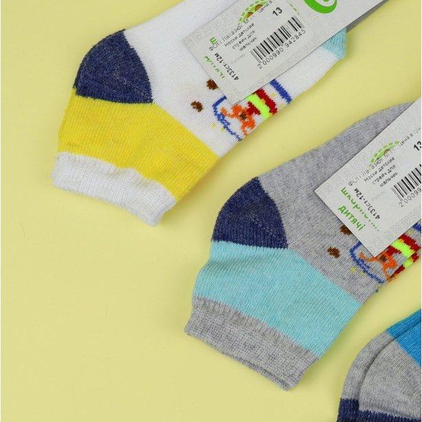 Детские носки на мальчика с принтом тм Эко размер 12
