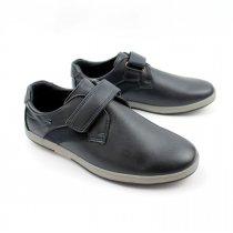 Туфли мокасины мальчику подростку Синие Tom.m