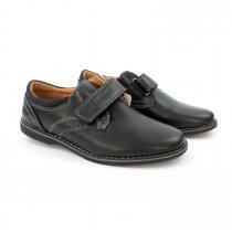 Туфли для мальчика Черные, застежка липучка тм Том.М