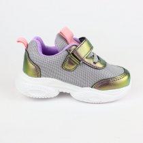 Сиреневые кроссовки на девочку с голографическими вставками тм Tom.m