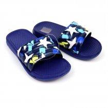 Детские шлепки Звезды синие пляжная обувь тм GIOLAN