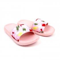 Детские шлепки Звезды розовые пляжная обувь тм GIOLAN
