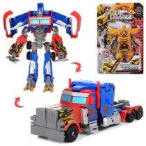 Игрушка трансформер 21 см, робот-транспорт, 29-45-7,5 см KMW5533-137