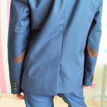 Школьный костюм мальчика Челси синий, черный