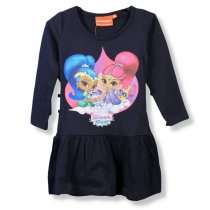 Детское платье Шимер и Шайн синее тм Nickelodeon