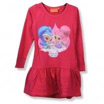 Детское платье Шимер и Шайн розовое тм Nickelodeon