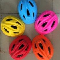 Детский шлем 0,17 кг, вентилирующие отверствия, в кульке KMCPS-0015