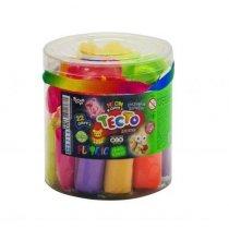 Креативное творчество Тесто для лепки FLUORIC 22 цвета укр тм Danko Toys KMTMD-FL-22-01U