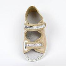Детские тапочки сандали для девочки открытый носок тм Waldi