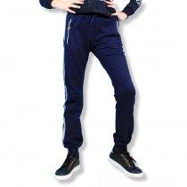 Детские спортивные штаны для девочки с лампасами черные тм S&D